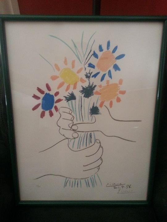 Picasso Signed Lithograph - Collectible Art