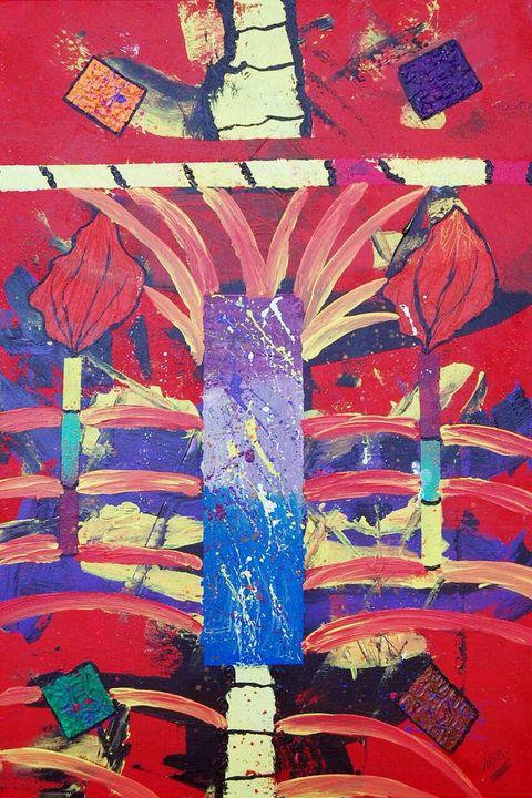 Abstract painting - Najam kachwala