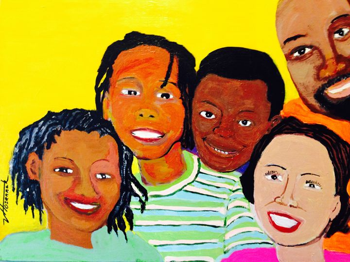 Da Family - Hosannah Art