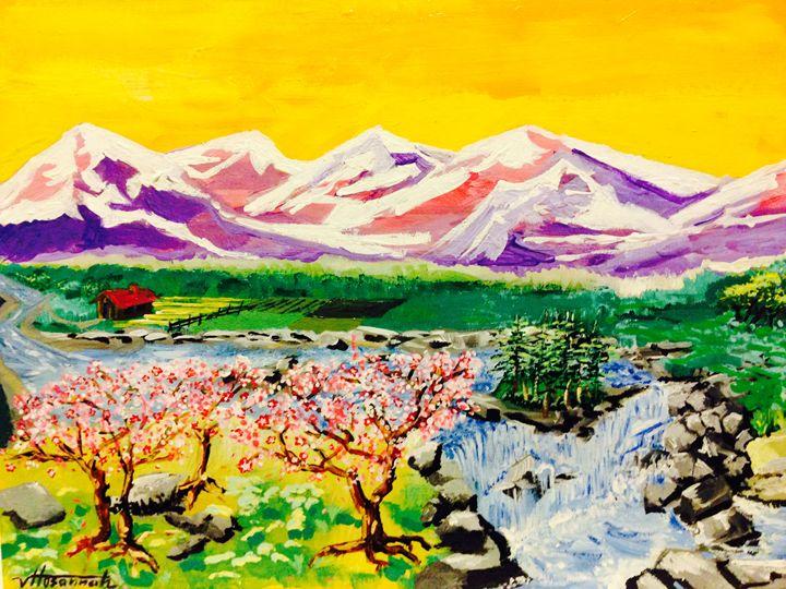 Winter's Thaw - Hosannah Art