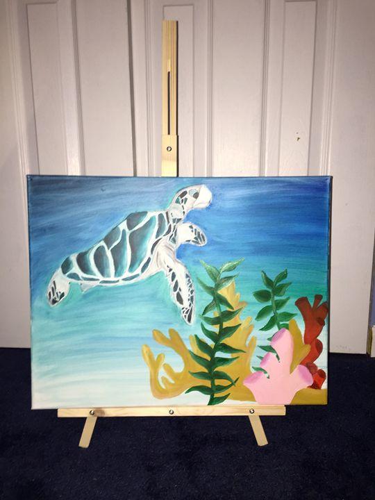 Under the Sea - Leigh's art