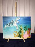 Oil ocean painting