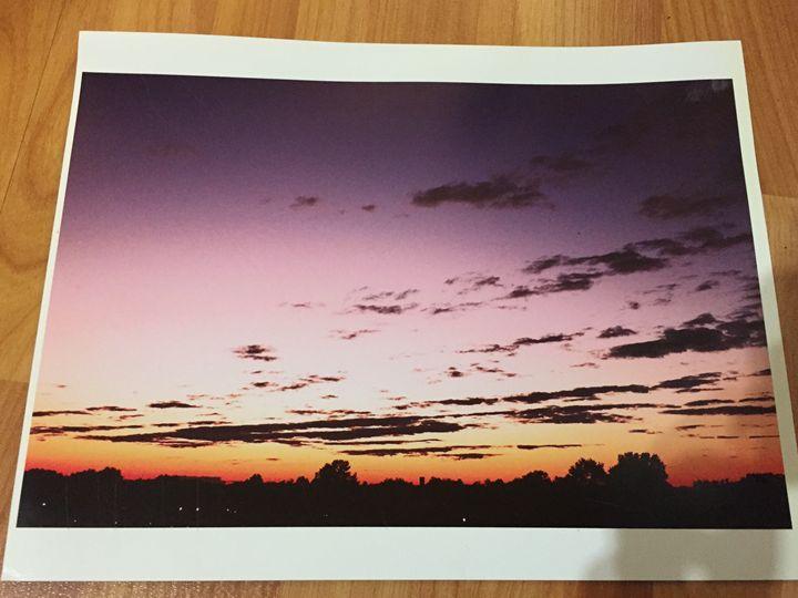 Sunset - Leigh's art