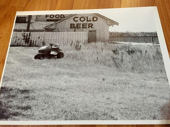 Farm black and white - Leigh's art