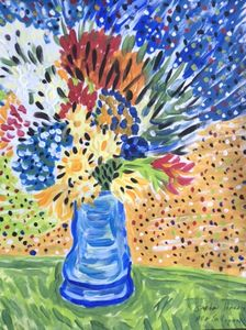 Vase with Flowers - Stephen Harris
