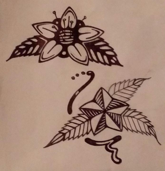 Dual Blossoms - Skyts Pics