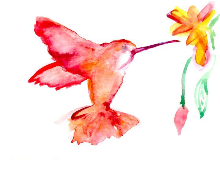 Humble Bird - Art by Tea Silvestre Godfrey