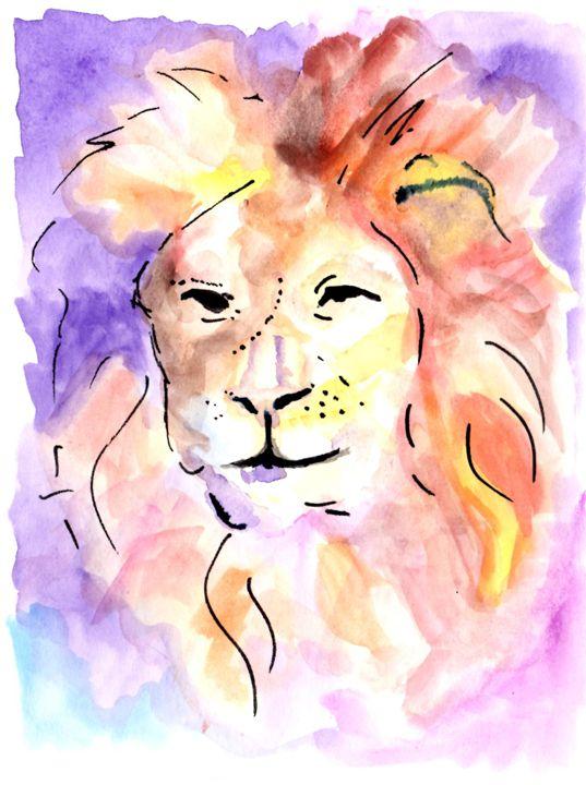 Leo - Art by Tea Silvestre Godfrey