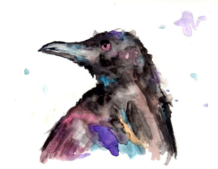 Fish Crow Song - Art by Tea Silvestre Godfrey