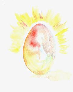 Egglicious - Art by Tea Silvestre Godfrey