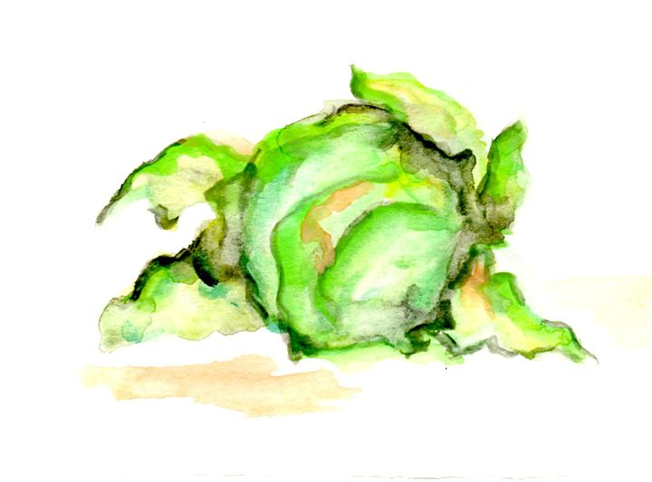 Ace of Cabbages - Art by Tea Silvestre Godfrey