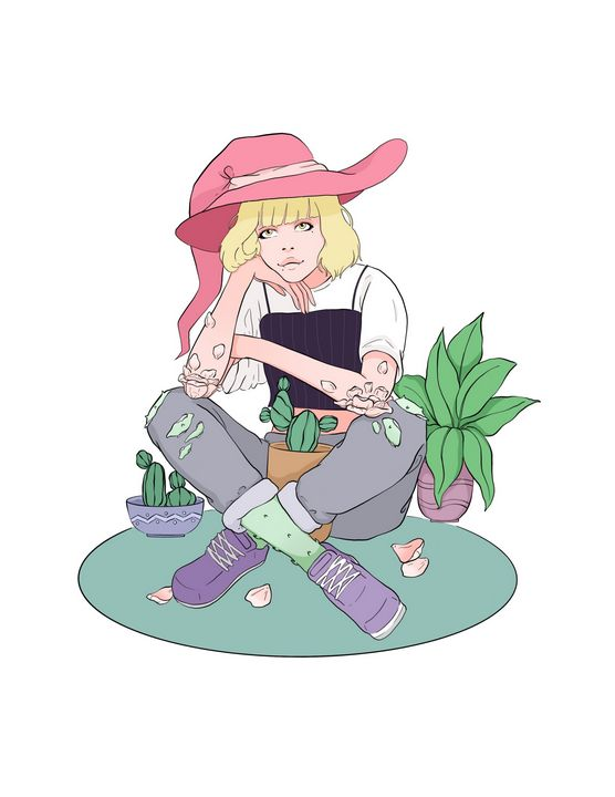 Plant witch - Luna