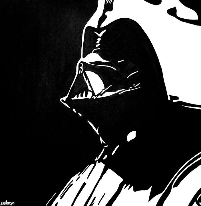 Darth Vader Painting - Stephanie R. Originals