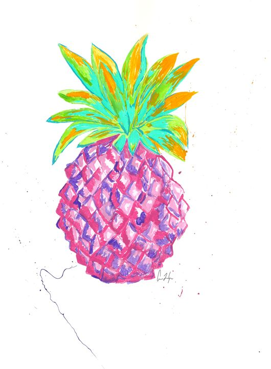 Pink Pineapple - Colleen Catherine