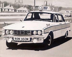 Rover P6 3500 V8