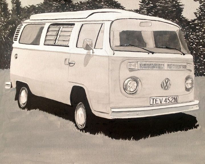 VW Type 2 Camper - Sid Fox Gallery