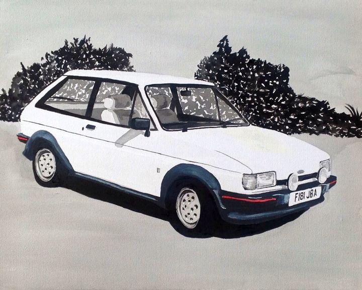 Mk.2 Ford Fiesta XR2 - Sid Fox Gallery