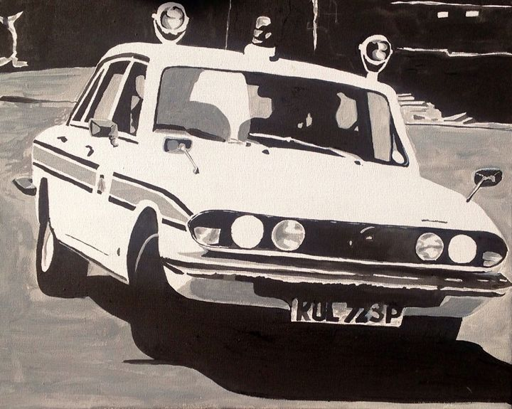 Triumph 2500 TC Police Car - Sid Fox Gallery