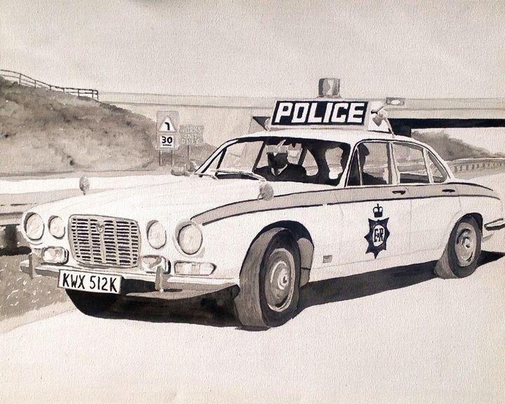Jaguar XJ6 Police Car - Sid Fox Gallery