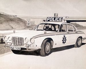 Jaguar XJ6 Police Car