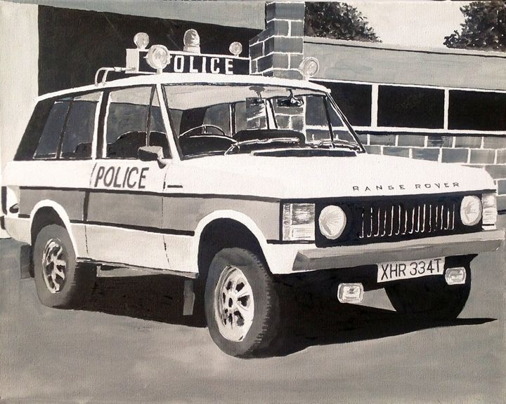Range Rover Police Car - Sid Fox Gallery