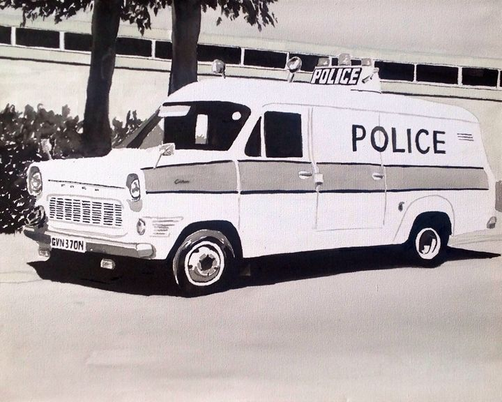 Mk1 Ford Transit Police Van - Sid Fox Gallery
