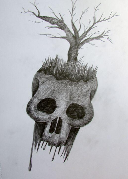Tree Skull - Tahlia paige