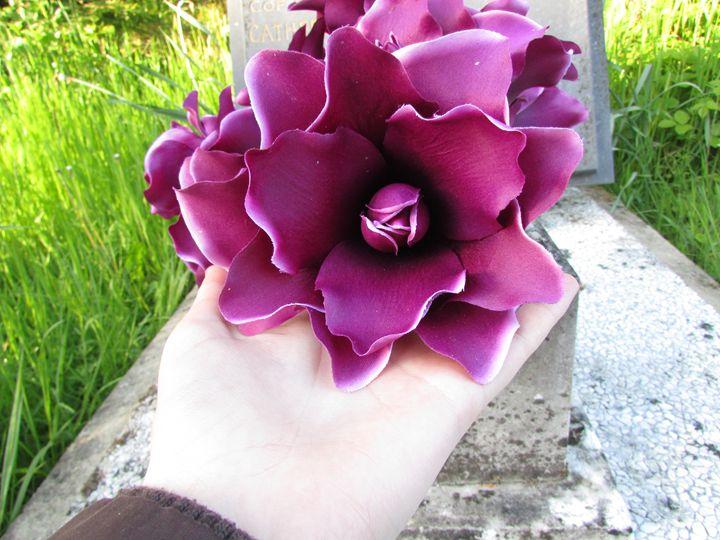 Purple Flowers - Tahlia paige