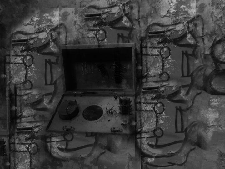 Abandoned Colliery Graffiti - Tahlia paige
