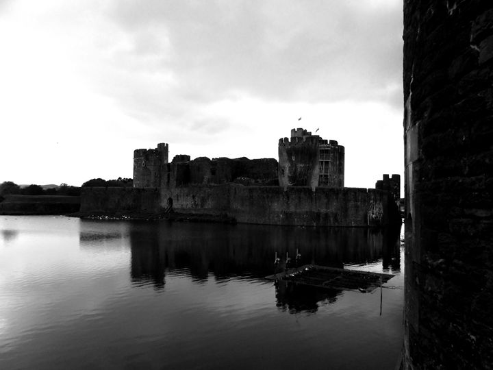 Caerphilly Castle - Tahlia paige