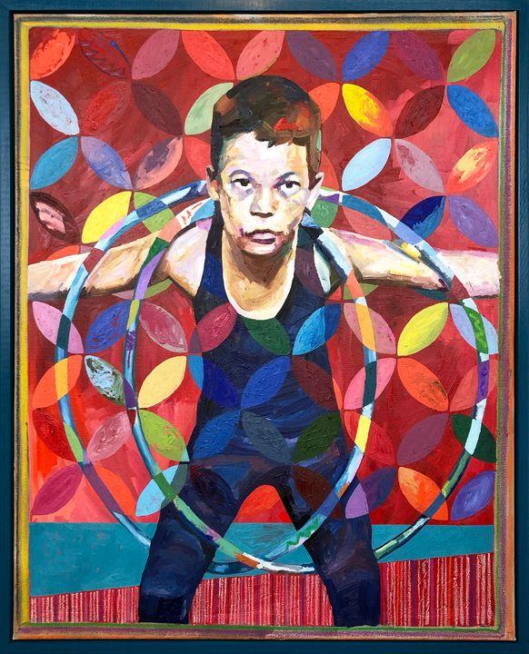 Enfant de Cirque - J. McAfee Art