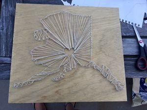 State Love string art