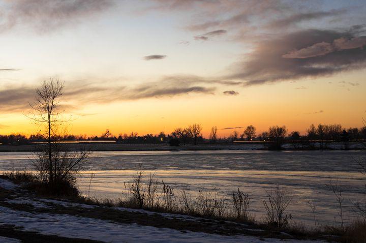 Frozen lake - David Russell Photography
