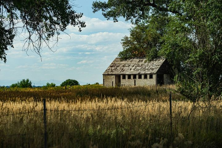 Old Farm House - David Russell Photography