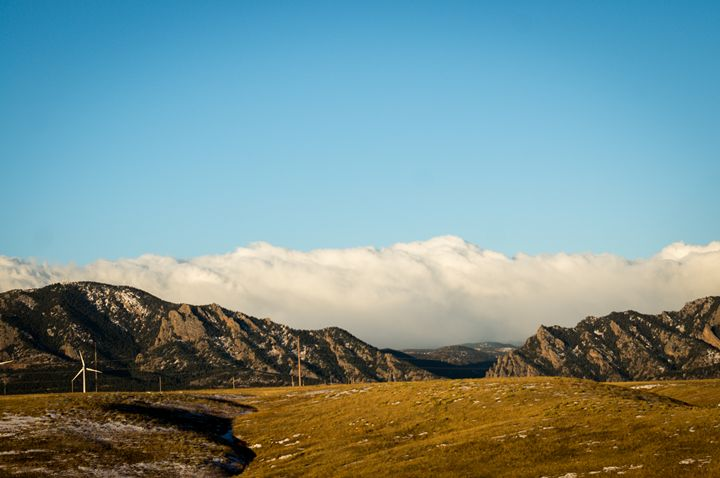Clouds Looming - David Russell Photography