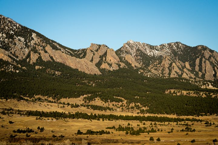 Flatirons - David Russell Photography