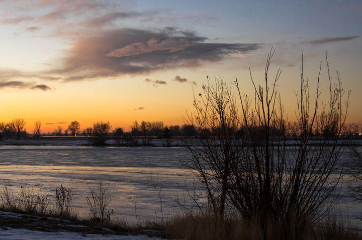 Lake Sunrise - David Russell Photography