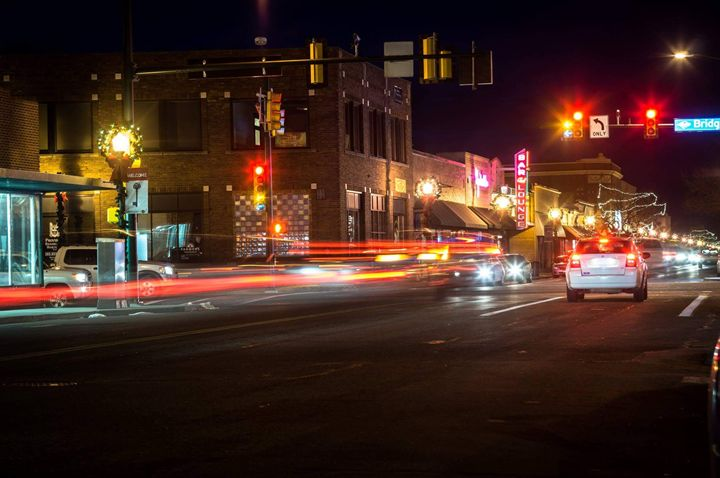 Busy Street - David Russell Photography