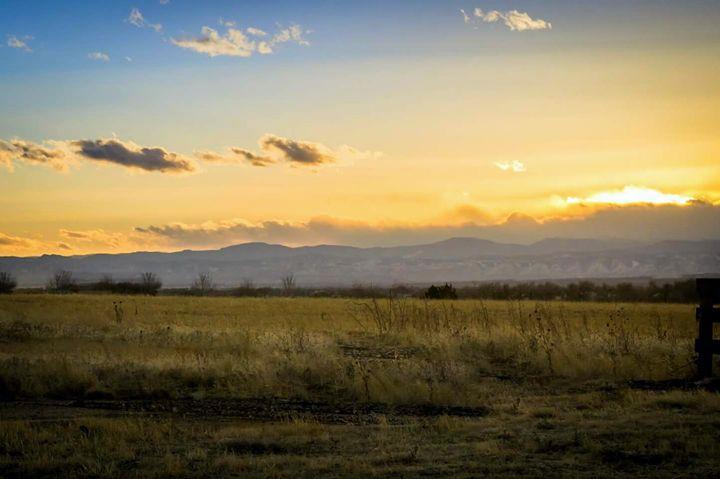 Yellow Sunset - David Russell Photography