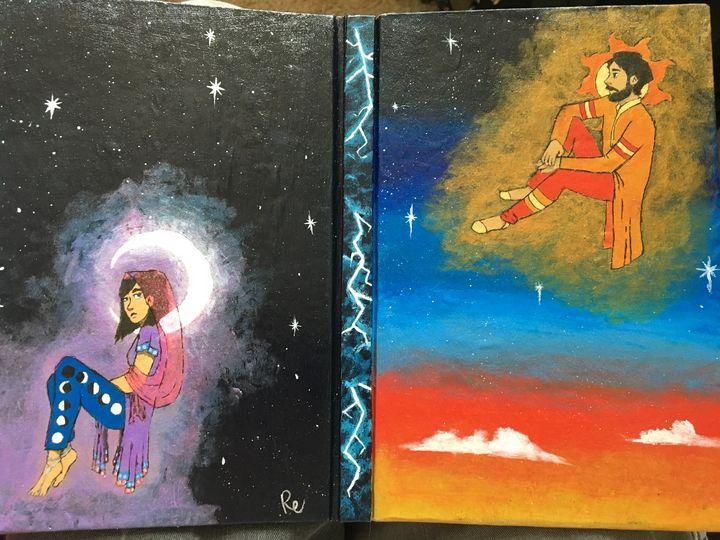Sun and Moon Journal - Eshuis Art
