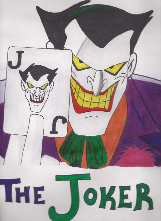 The Joker 'Animated' - Kat Yager
