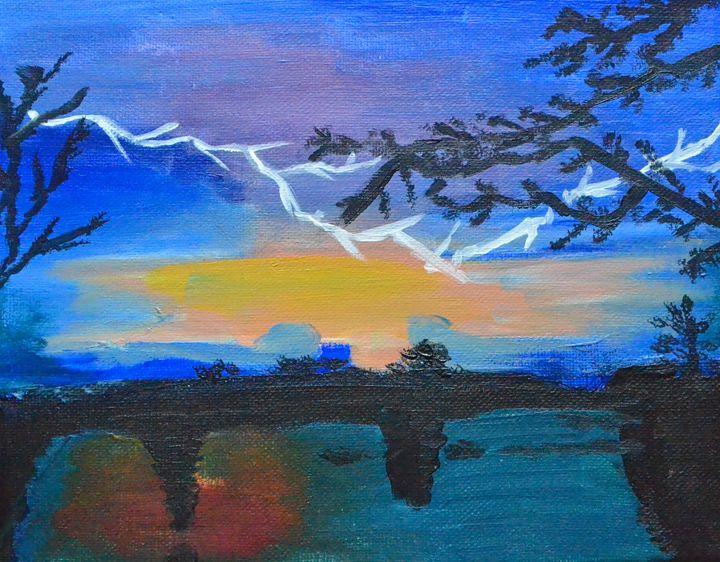 Lighting Sun Set - Tracy Narcaroti