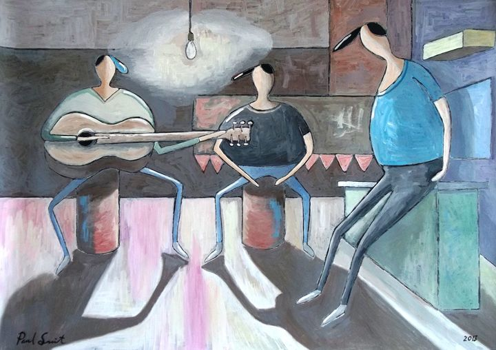 The Jamming Session - Paul Bokvel Smit Art