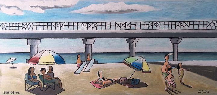 Shark Pier - Hobie Beach - PE - SA - Paul Bokvel Smit Art