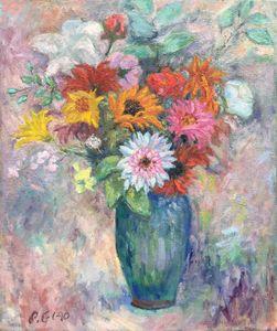 Daisy vase flowers
