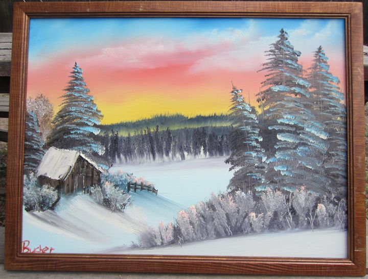 Warm Winter - Stephen's Joy of Painting