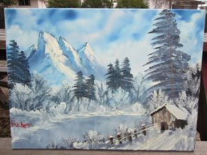 *SOLD* winter escape