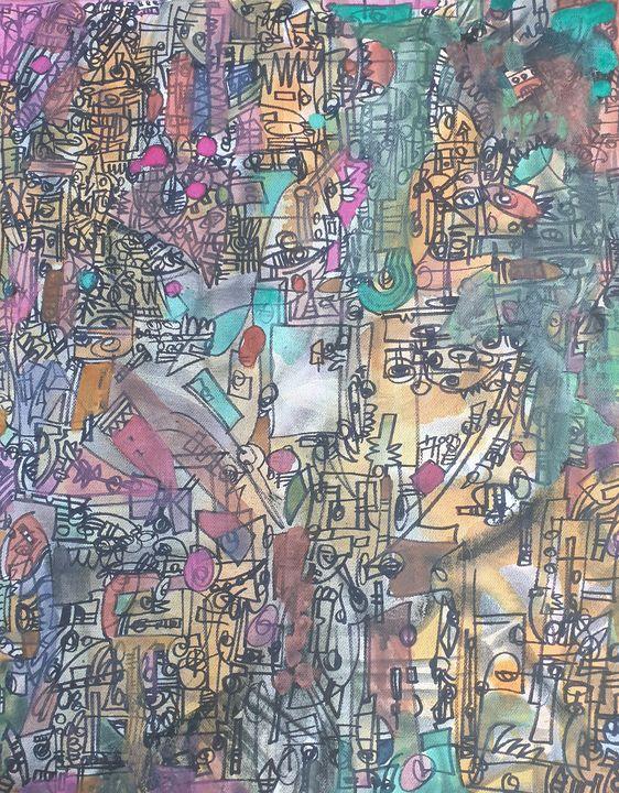 Window within(Stained glass Majesty) - Jon Seidman