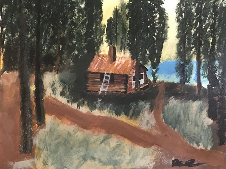 Old Fishing Cabin - Kenneth Cecil