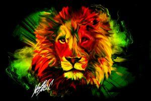 Rhasta Lion - HMCNEILART